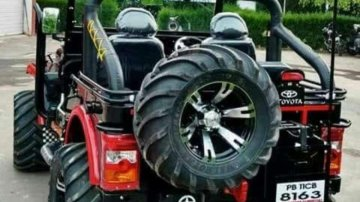 Used Mahindra Thar car 2018 for sale at low price