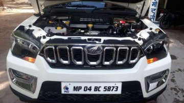 Used Mahindra Scorpio car 2018 for sale at low price
