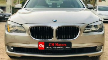 Used BMW 7 Series car 2012 for sale at low price