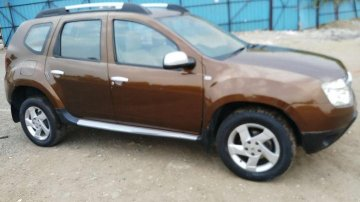 Used Renault Duster 110PS Diesel RxZ MT car at low price