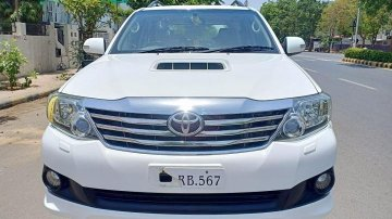 2013 Toyota Fortuner 4x4 MT for sale at low price