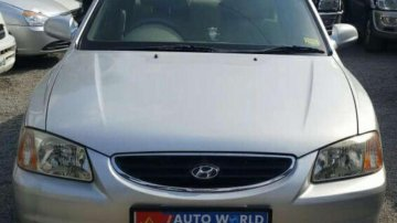 Used Hyundai Accent car GLE MT at low price