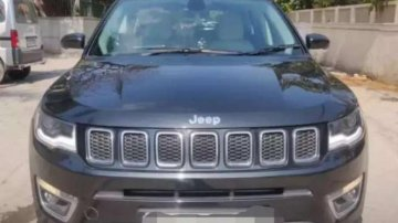 Used Jeep Compass car 2019 AT for sale at low price