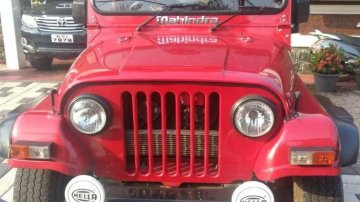 Used Mahindra Thar car CRDe MT at low price