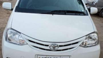 Used Toyota Etios car GD MT at low price
