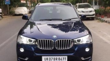 Used BMW X3 xDrive 20d xLine AT 2016 for sale