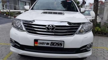 Used Toyota Fortuner 4x4AT for sale at low price