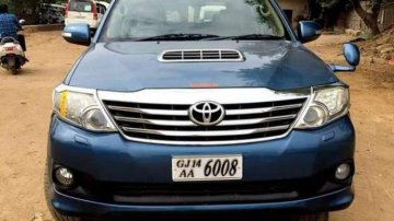 Used Toyota Fortuner  4x4 MT at low price