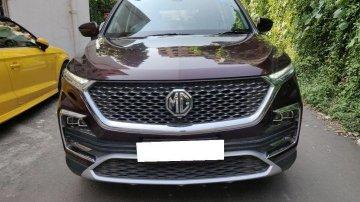 Used MG Hector AT car at low price