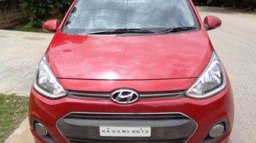 Used Hyundai Xcent MT car at low price