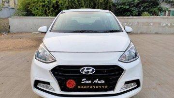 Used Hyundai Xcent 1.1 CRDi S MT car at low price in Ahmedabad