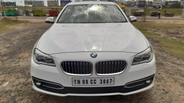 Used BMW 5 Series AT 2013-2017 car at low price in Chennai