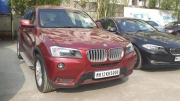 Used BMW X3 AT car at low price in Pune
