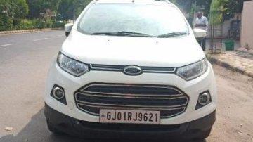 Ford EcoSport 1.5 Petrol Titanium 2015 MT for sale in Ahmedabad