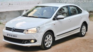 Used Volkswagen Vento Petrol Highline MT car at low price in Hyderabad