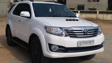Used Toyota Fortuner 4x4 MT 2015 in Ahmedabad