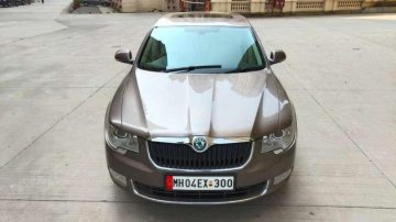 2011 Skoda Superb AT for sale in Thane