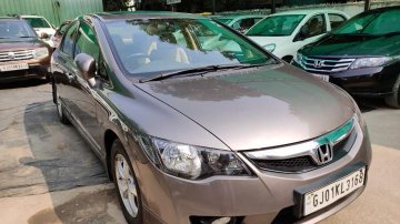 2011 Honda Civic 1.8 V AT Sunroof for sale at low price  in Ahmedabad