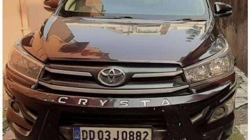 2016 Toyota Innova Crysta AT for sale in Thane