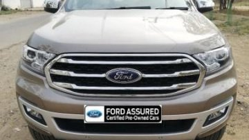Used Ford Endeavour 3.2 Titanium AT 4X4 car at low price in Aurangabad