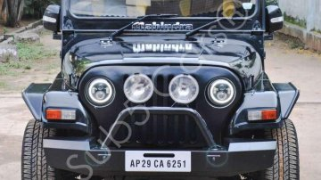 Used 2013 Mahindra Thar CRDe MT for sale in Hyderabad