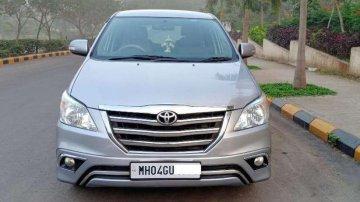 Toyota Innova 2.5 ZX 7 STR BS-IV, 2015, Diesel MT for sale in Thane