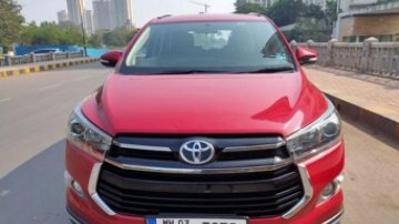 2018 Toyota Innova Crysta Version Touring Sport 2.4 MT for sale at low price in Thane