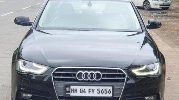 2013 Audi A4 2.0 TDI 177 Bhp Premium Plus AT for sale at low price in Mumbai