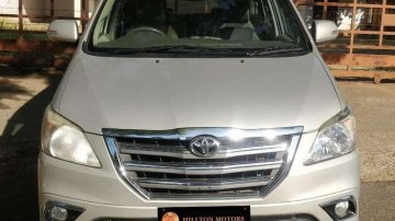 Used Toyota Innova 2.5 ZX 7 STR BS-IV, 2014, Diesel MT for sale in Nagar