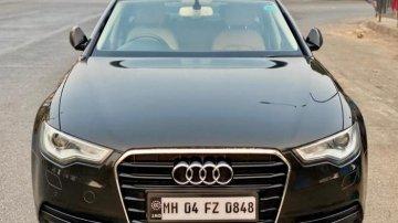 Used 2013 Audi A6 AT 2011-2015 car at low price in Mumbai