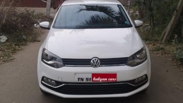 2017 Volkswagen Polo 1.0 MPI Comfortline MT for sale at low price in Coimbatore