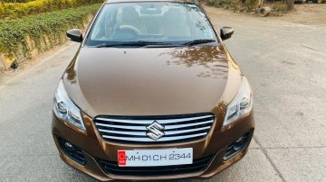 Used 2016 Maruti Suzuki Ciaz MT car at low price in Mumbai