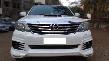 2012 Toyota Fortuner 4x2 MT TRD Sportivo for sale at low price in Mumbai