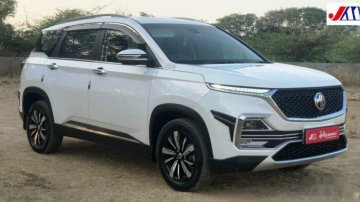 Used 2019 MG Hector AT for sale in Ahmedabad
