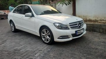 Used 2014 Mercedes Benz C-Class 220 CDI MT in Nagpur