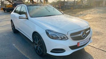 Mercedes Benz E Class 2015 AT for sale in Mumbai