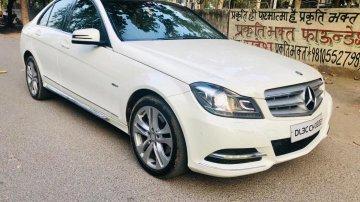 2012 Mercedes-Benz C-Class C 220 CDI BE Avantgare AT in New Delhi