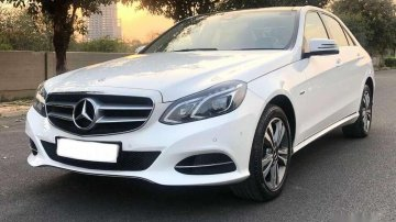 Used Mercedes Benz E Class 2017 AT for sale in Faizabad