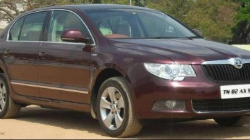 Skoda Superb Ambition 2.0 TDI CR Automatic, 2012, Diesel AT for sale in Coimbatore