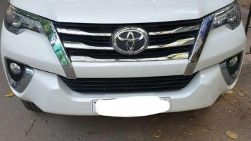 Used Toyota Fortuner 2017 MT for sale in Chennai