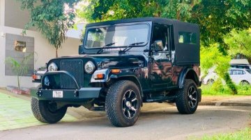 Mahindra Thar 4X4 2013 MT for sale in Coimbatore