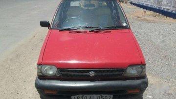 Used Maruti Suzuki 800 2007 MT for sale in Hyderabad