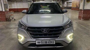 Hyundai Creta 1.6 SX Plus Auto, 2018, Petrol AT for sale in Mumbai