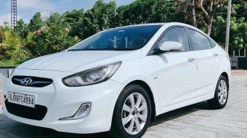 Hyundai Verna Fluidic 1.6 CRDi SX, 2012, Diesel MT for sale in Vadodara