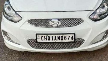 Used Hyundai Fluidic Verna 2012 MT for sale in Chandigarh