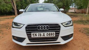 Used 2016 Audi A4 2.0 TDI AT for sale in Madurai