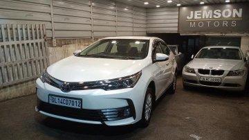 Used 2018 Corolla Altis 1.8 G CVT  for sale in New Delhi