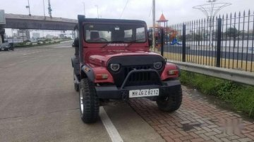 Mahindra Thar CRDe 4x4 AC, 2014, MT for sale in Mira Road