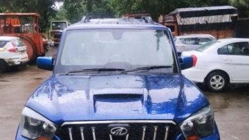 Used Mahindra Scorpio S10 7 Seater 2014 MT for sale in Thane