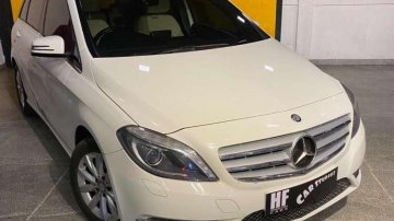 Used 2014 Mercedes Benz B Class AT for sale in Chennai